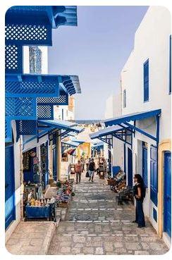 ville sousse couleurs bleu