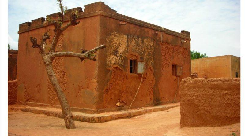 maison traditionnelle au mali