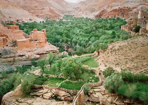 gorges du Dadès maroc